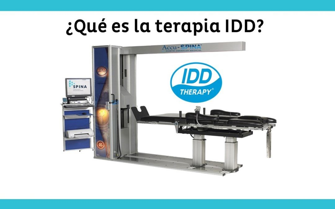 ¿Qué es la Terapia IDD?